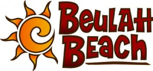 Beulah Beach logo stacked