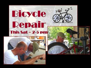 2014 Bicycle repair announcemtnet