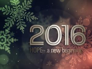 Hope a New Beginning