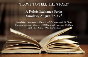 I Love to Tell the Story Logo - Aug 9-23