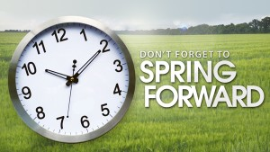 Spring forward - small new